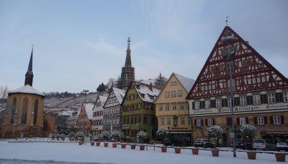 kerst- muziekreis naar esslingen, heidelberg en stuttgart